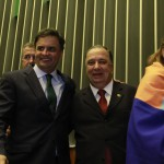 Senador Aécio Neves e Dr Arnaldo Acbas de Lima
